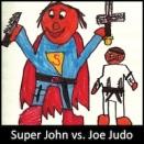 Super John vs Joe Judo