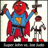 Super John vs Joe Judo