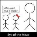 Eye of the Miser