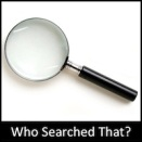 Who Searched That?