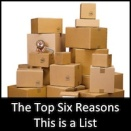 The Top Six Reasons This is a List