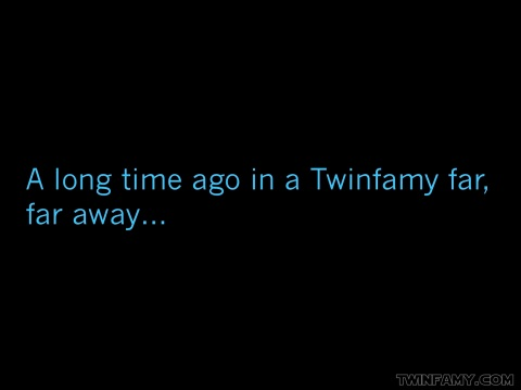 Twin Wars - A Long Time Ago in a Twinfamy far, far away...