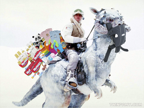 Twin Wars - Pack Tauntaun