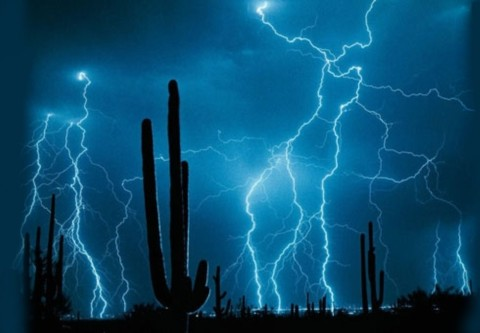 Desert Lightning