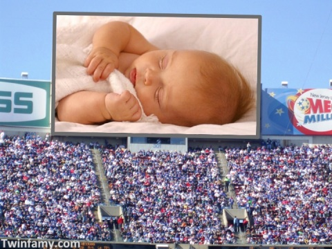 JumboTron Baby Monitor
