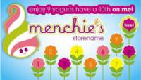 Menchie's Punch Card