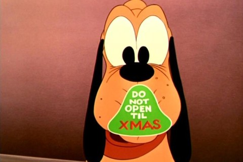 Pluto Do Not Open Til Xmas