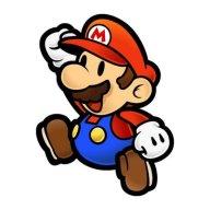 Super Mario Brothers Fist-Raised Leap