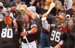 The Cleveland Brown Dawg Pound