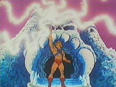 "He-Man: ""I have the power!"""