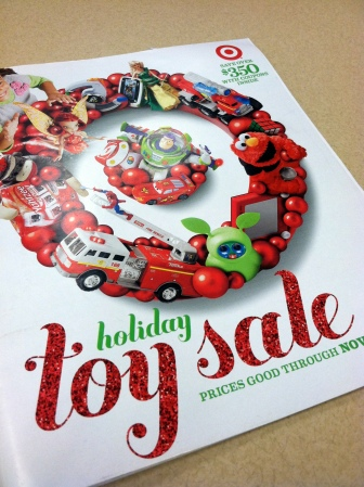 Target Holiday Toy Sale Catalog