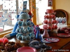 Sock Monkey Birthday Party