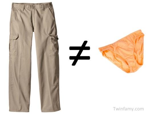 Pants vs. Panties