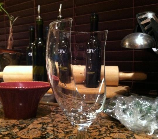 Wine Glass Crack 1