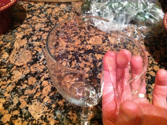 Wine Glass Crack 2