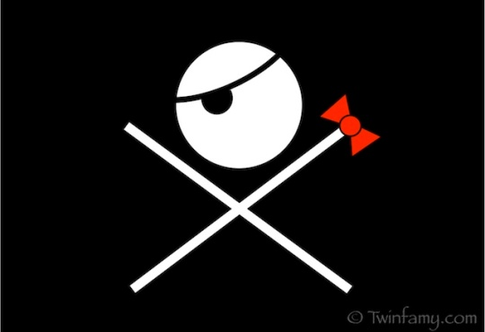 Twinfamy Pirate Flag