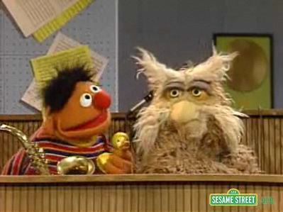 Sesame Street - Hoots and Ernie - Put Down the Duckie