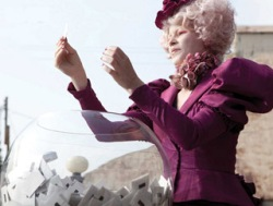 The Hunger Games - Effie with the Reaping Bowl