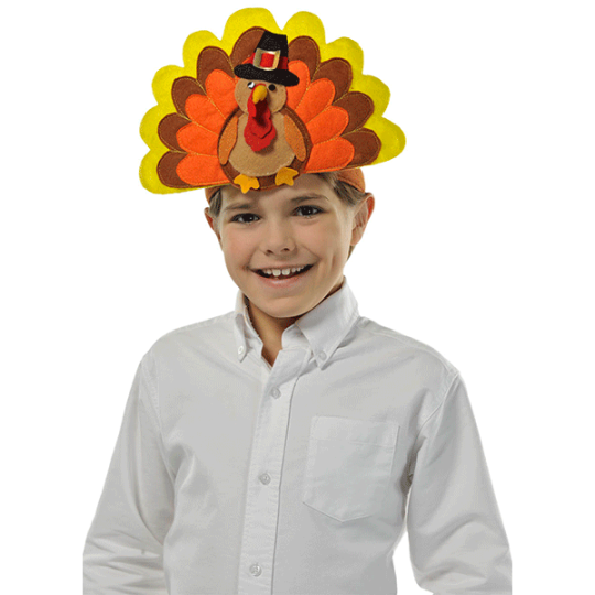 Happy Turkey Day Headband