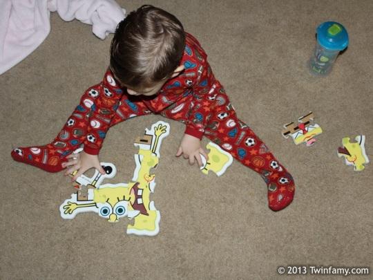 Mutant SpongeBob Puzzle