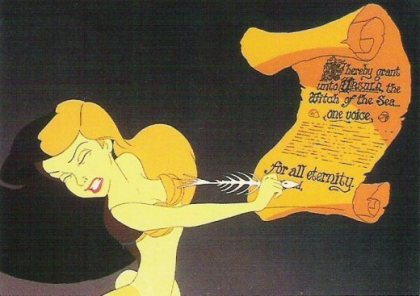 The Little Mermaid - Ariel Signing Contract