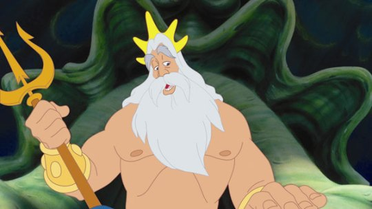 The Little Mermaid - King Triton