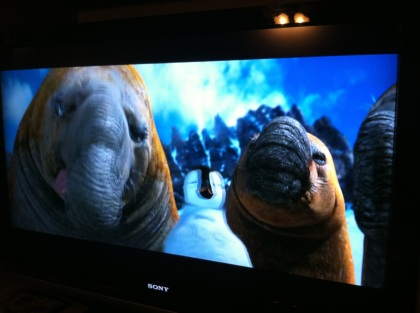 Manatees in Happy Feet
